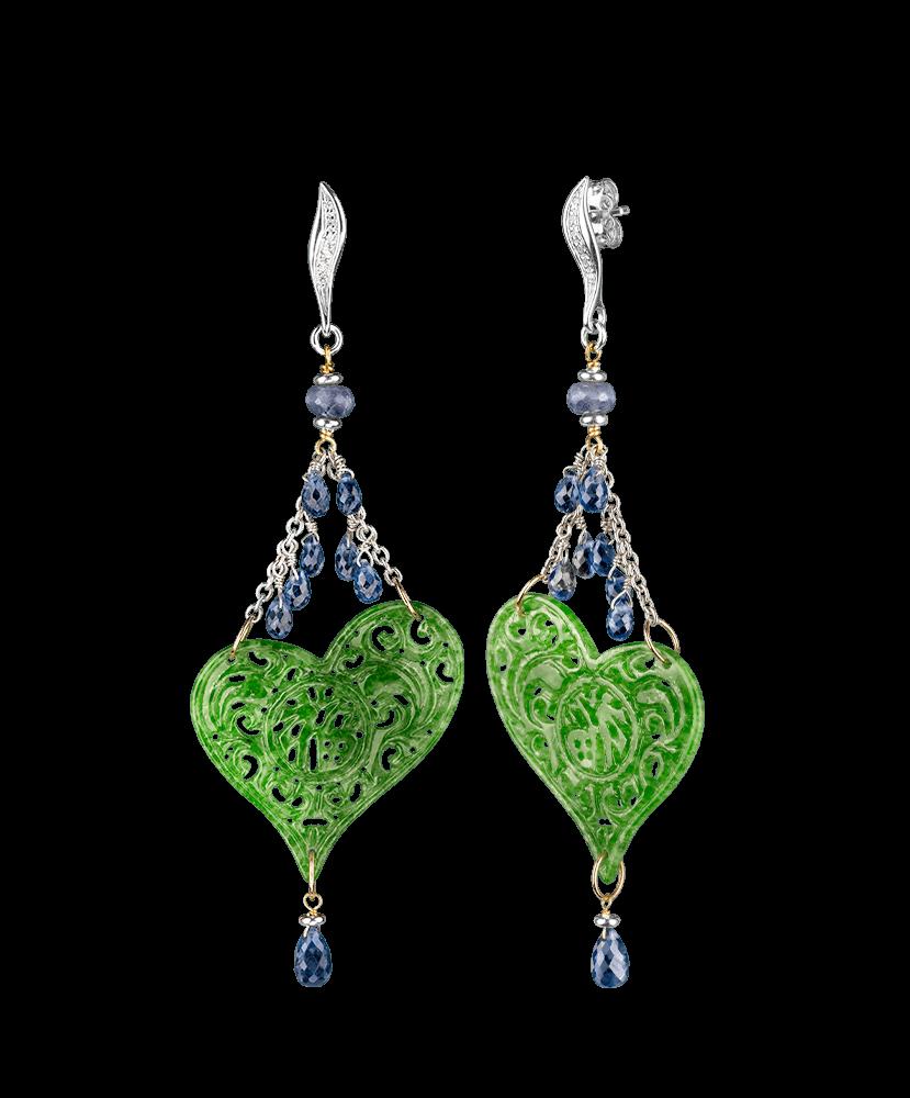 Silvia Kelly Lake Como - Lecco jewelry - Italian jewelry - Elodie Earrings