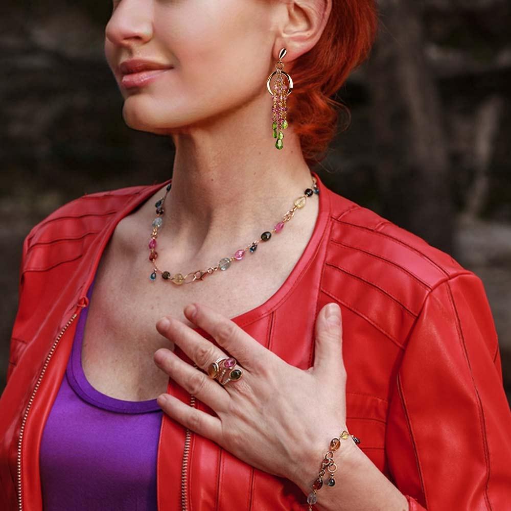 Silvia Kelly Lake Como - Lecco jewelry - Italian jewelry - Tourmaline Parure