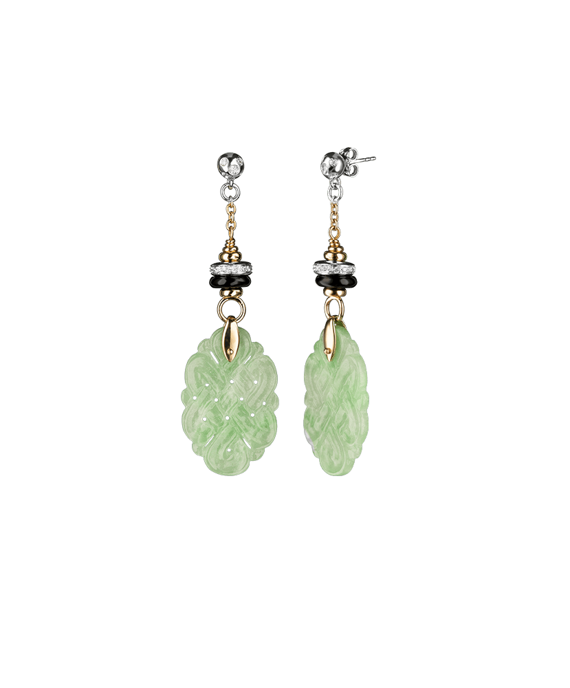 Silvia Kelly Lake Como - Lecco jewelry - Italian jewelry - Arcella Earrings